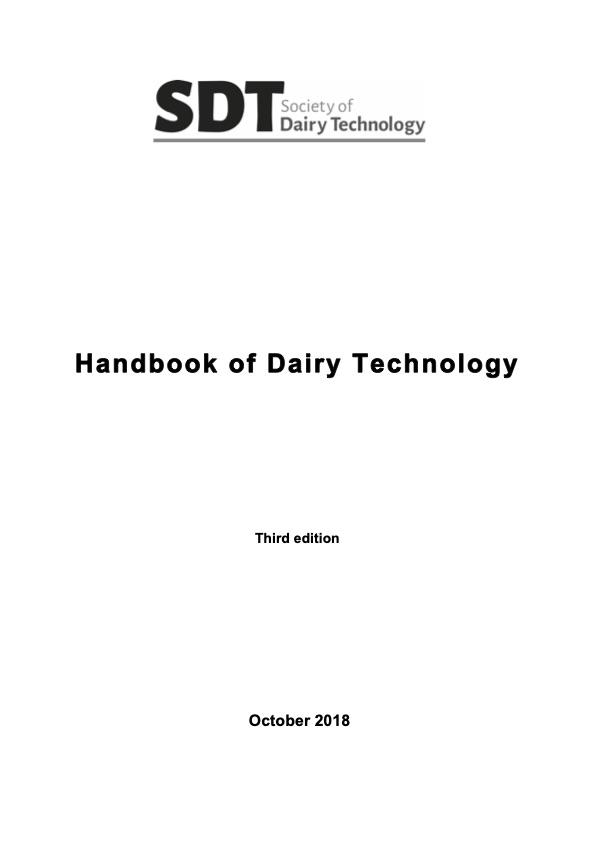 Handbook of Dairy Technology